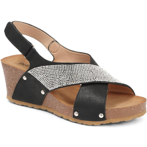 Slingback Sandal With Wedge