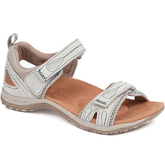 White Leather Walking Sandal