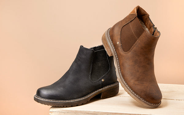 Ladies Leather Chelsea Boot
