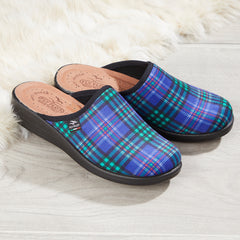 Tartan Slippers for Ladies