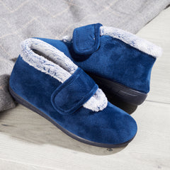 Ladies Blue Slippers