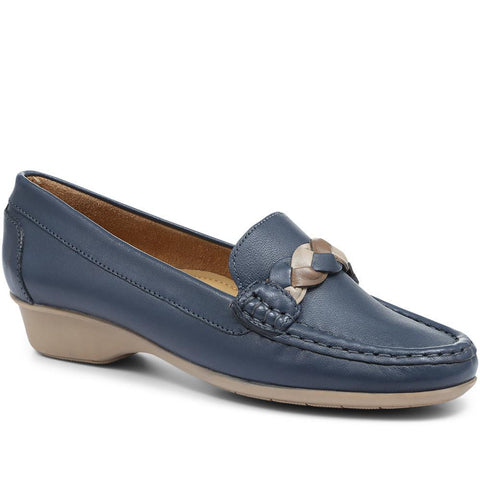 NAP24000 Leather Moccasin