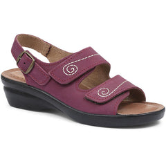 Ladies Purple Sandal