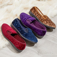Velour Slippers