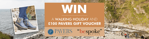 Win a Walking Holiday with Pavers Shoes