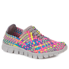colourful stretchy trainer