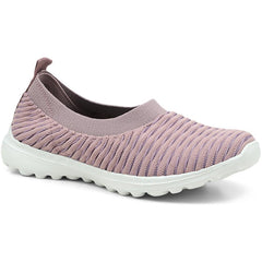 Pink Slip-On Trainer Pump