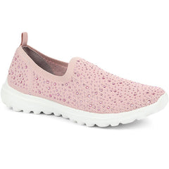 Ladies Pink Trainers