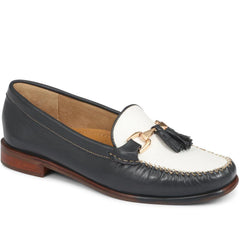 Ladies Navy Loafers