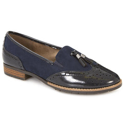 Patent and Tassel Loafer