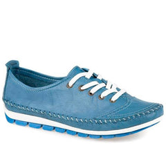 colourful leather casual shoe