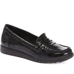 Ladies Patent Loafers