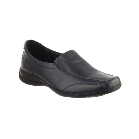 Navy  Merton Ladies Slip-On Shoe