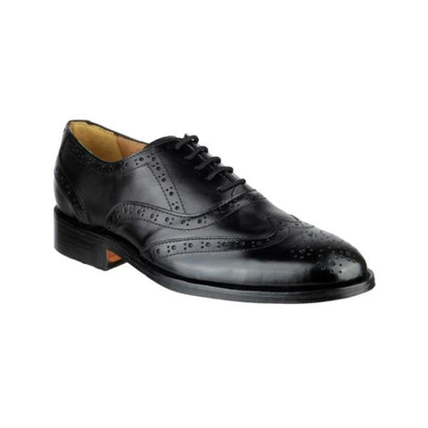 Ben Leather Soled Shoe - BEN BROGUE / 10875 Ben Leather Soled Shoe