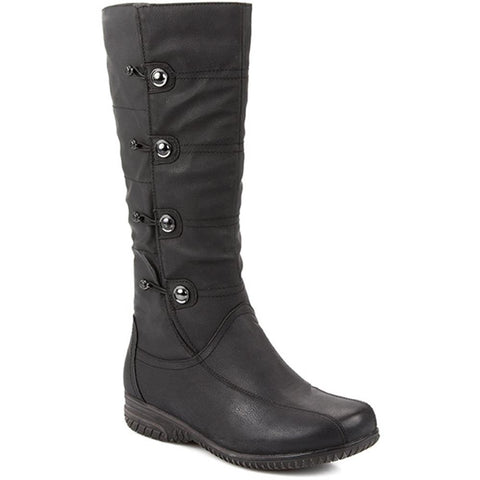 Calf Length, Button Detail Boot - WBINS2012 / 302 188