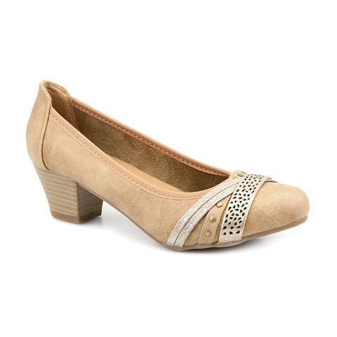 Multi Strap Court Shoe - PLAN25009 / 309 294