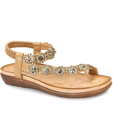 Pretty Beaded Toe-Post - BAIZH25030 / 309 543