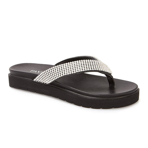 Diamante Toe Post Sandal - ZYN25008 / 311 109