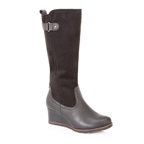 Wedge Heel Calf Boot - XTI26548 / 310 898