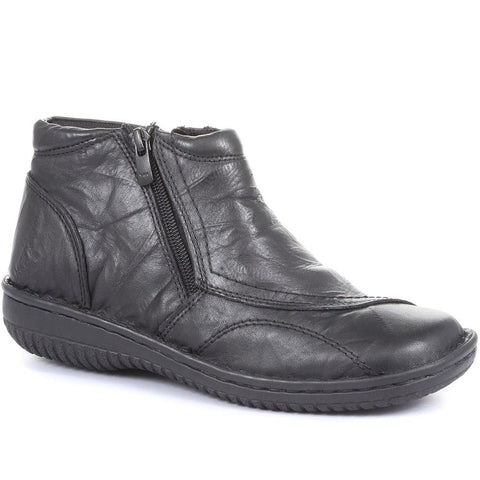 Zip Ankle Boot - HAK26007 / 311 054