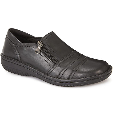 Leather Slip On Shoe - HAK23014 / 308 135