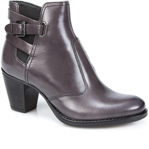 Heeled Ankle Boot with Buckle - BELITAR26002 / 310 478