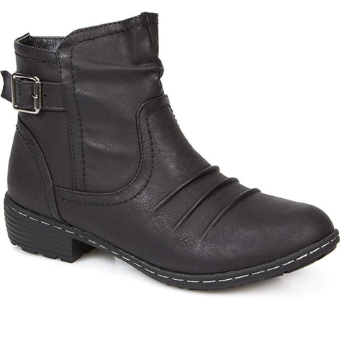 Fleece Lined Ankle Boot - FLA26001 / 312 132