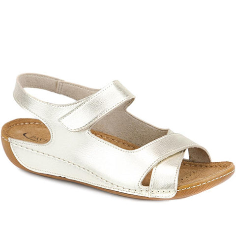 Touch-Fasten Sandal with Leather Insole - MUY1509 / 124 091