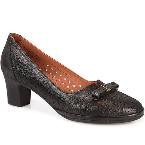 Leather Court Shoe - LAPIN27512 / 312 372