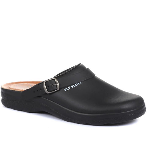 Anatomic Coated Leather Work Clog - FLYCLOG2010 / 301 573