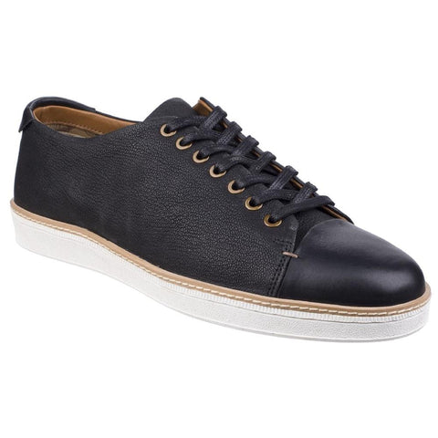 Black Tate Lace To Toe Casual Trainer