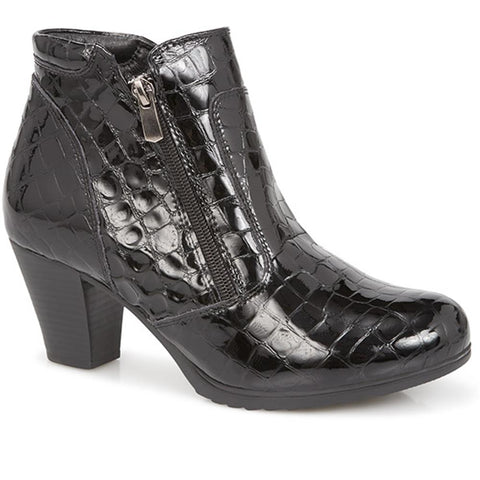 Patent Ankle Boot - VED28504 / 313 889