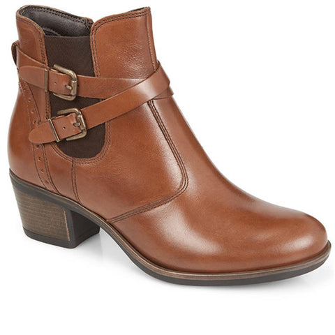 Heeled Leather Ankle Boot - BELITAR28014 / 312 739