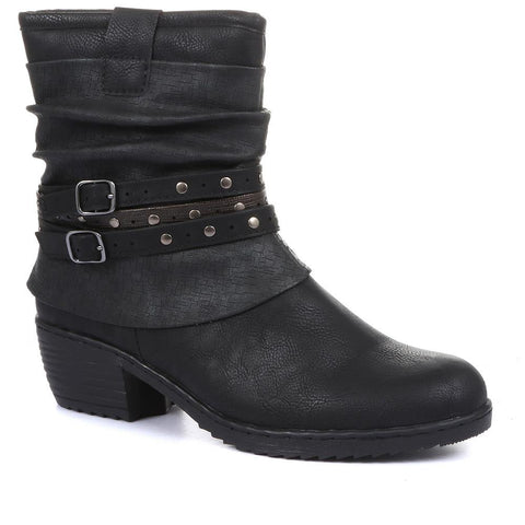 Slouch Fit Ankle Boot - WBINS28030 / 313 003