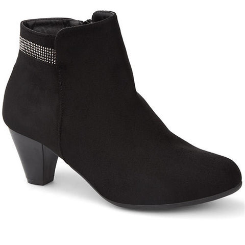Side Zip Ankle Boot - WJINH28005 / 313 038