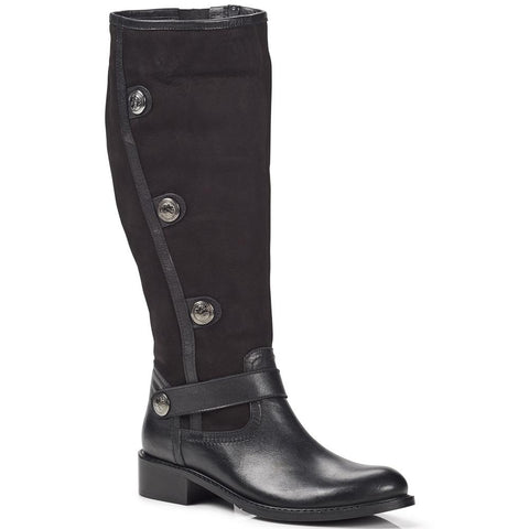 Leather Knee High Boot - BELBAR28002 / 313 459