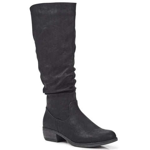 Casual Knee High Boot - WBINS28010 / 313 355