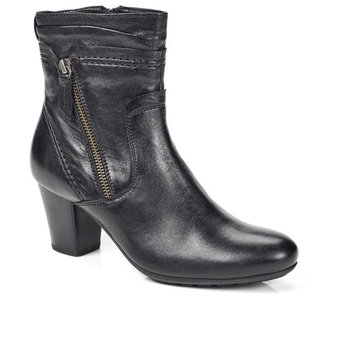 Heeled Leather Ankle Boot - RNB28006 / 312 776