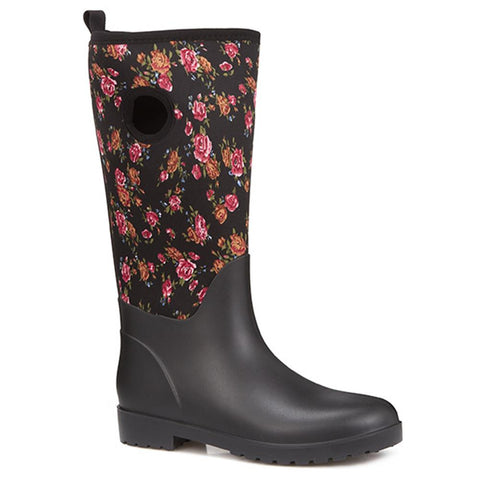 Rose Print Wellies - FEI28002 / 313 060