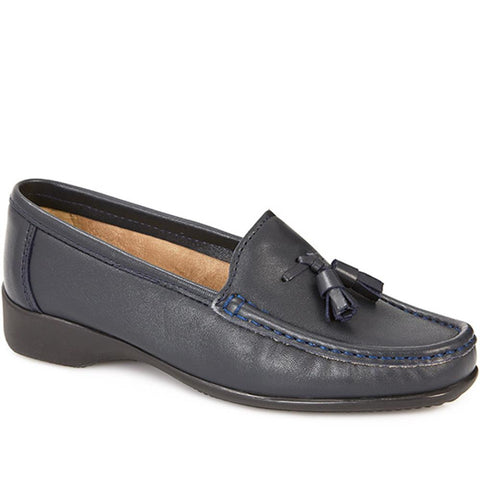Leather Loafer with Tassel - CONT25000 / 309 198