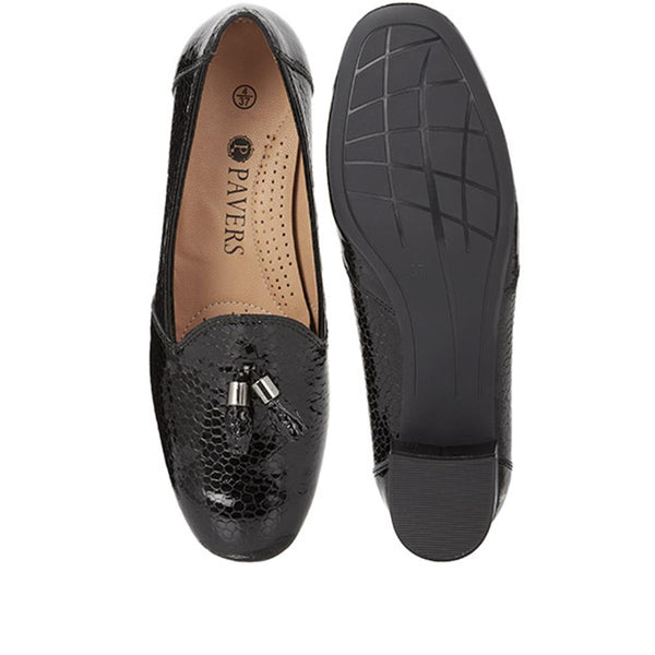 Patent Leather Loafer (MFA28000) by
