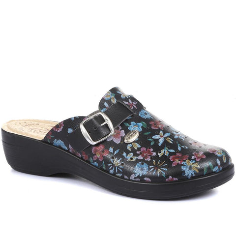 Floral Print Clog - FLY29028 / 313 800