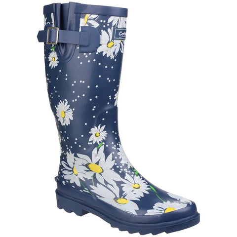 Burghley Waterproof Pull On Wellington Boot - BURGHLEY / 24240