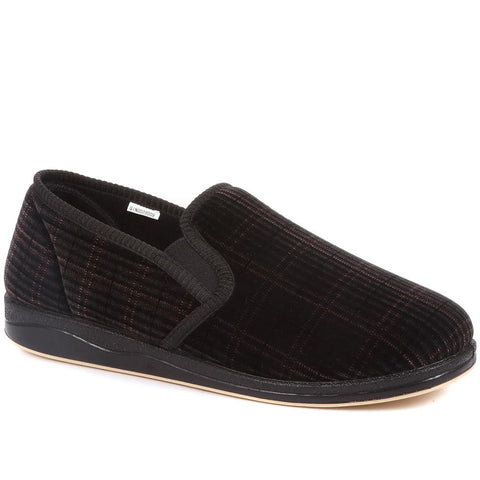 Plaid Full Slipper - QINGD28009 / 313 474