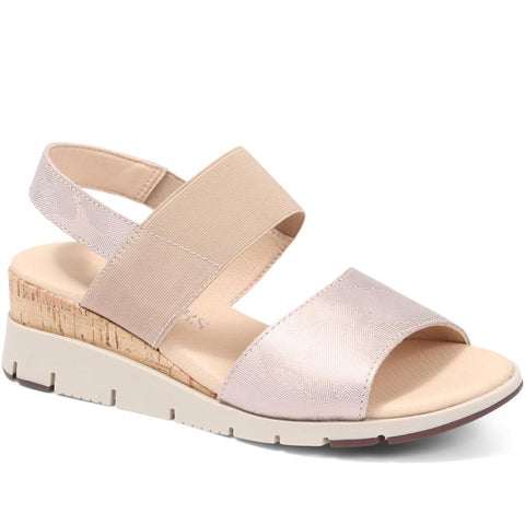 Flat Leather Sandal - CALSE29503 / 315 636