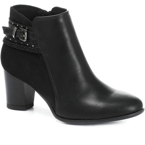 Block Heel Ankle Boot - BELTREN30004 / 316 248