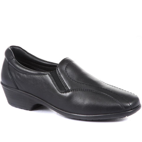 Leather Slip-On Shoe - KF30012 / 316 387