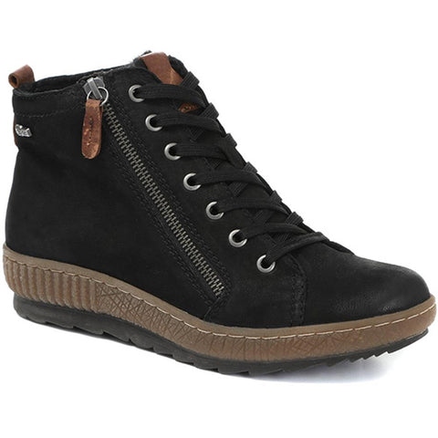 Lace-Up Leather Ankle Boot - CENTR30039 / 315 946