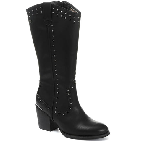 Western Knee High Boots - XTI30524 / 316 738