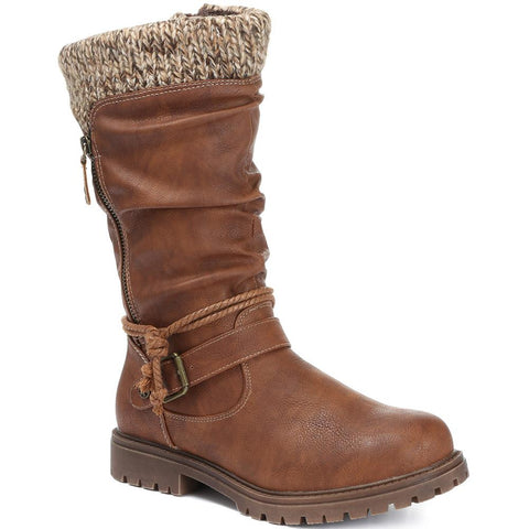 Casual Mid-Calf Boot - WBINS30015 / 316 204